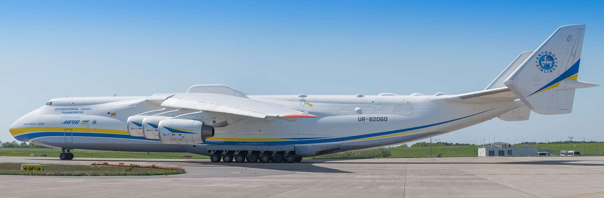 Antonov air cargo charter aircraft