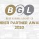 BGL Carrier Partner Awards 2020 Cover