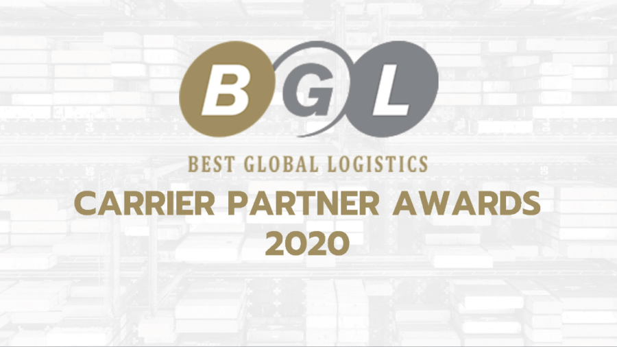 BGL Carrier Partner Awards 2020 Cover