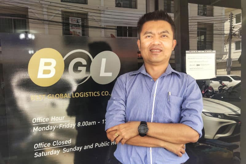 Mr. Thapaphat Patcharamenttaisong, Laem Chabang Branch Manager