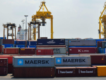 Chittagong Port Containers